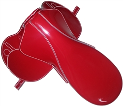 Large Racing Jockey Saddle by Baros Saddles - Horse Racing Equipment