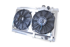 Acura Integra 1994 to 2001 Race Radiator w/ Fans & Shroud