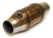 "2.5"" Ultra High Flow Metal Core Catalytic Converter"