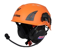 2-Way Radio Mounted Hard Hat