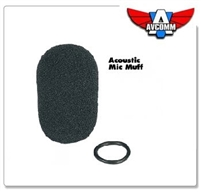 P1024 Foam Mic Muff for AC200, AC260 (Wire Boom)