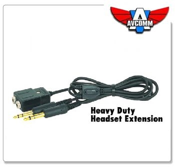 Avcomm P2-009-15 Headset 15' Extension
