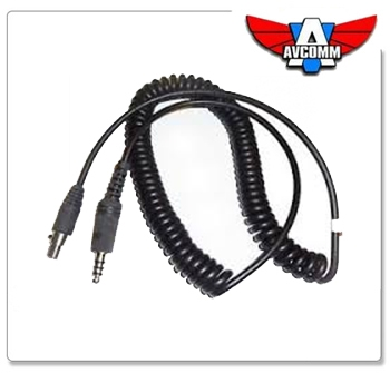 P2100 Helicopter cord for AC747 Headset
