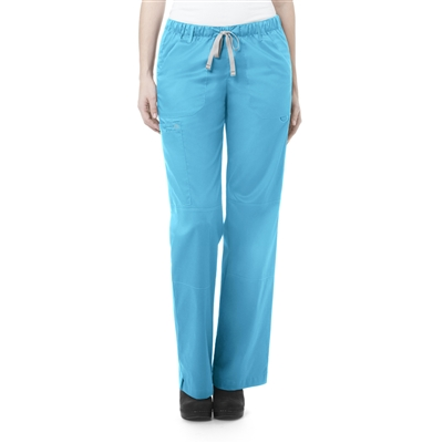 Women's Straight Leg Cargo Pant by WonderWink
