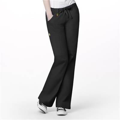 "Tango ""Lady"" Fit Straight Leg Utility Pant by WonderWink"