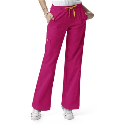 WonderWink Four-Stretch Sporty Cargo Pant by WonderWink