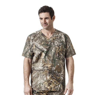 Carhartt Men's Realtree Camo One Pocket Print Top