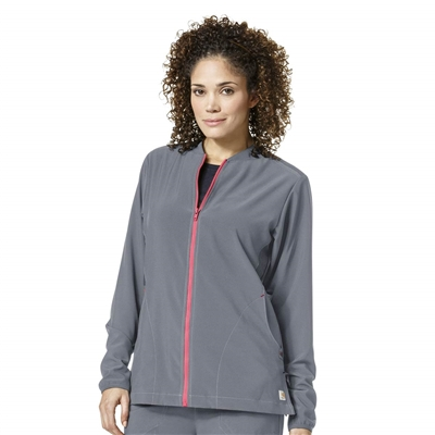 Carhartt Women's Cross-Flex Mix Zip Front Jacket