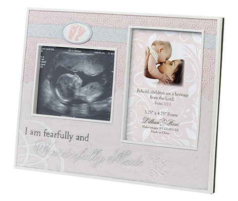 Baby Room Decor Ultrasound Picture Frame Pink