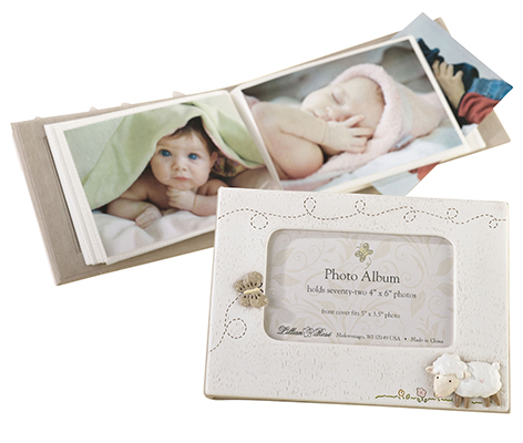 Baby Photo Album Keepsake Little Lamb