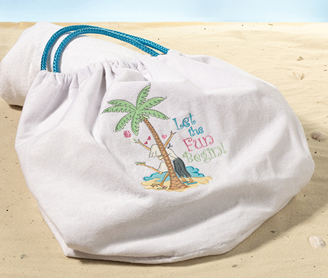 Travel Fun Beach Bag Destination Wedding Tote