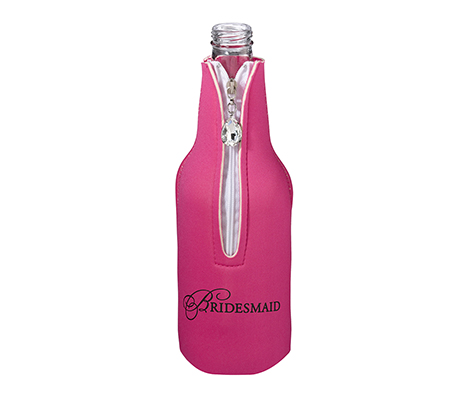 Bridesmaid Wedding Party Gift Bottle Cozy