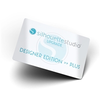 Silhouette Studio Upgrade - Designer Edition To Plus Upgrade