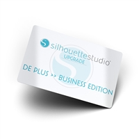 Silhouette Studio Upgrade - Plus to Business Edition Upgrade