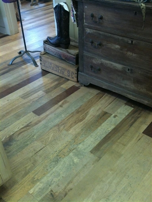 Unfinished Mixed Specie Wood Flooring - 2-1/4""