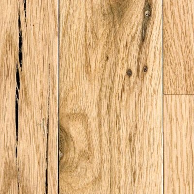 "Unfinished Red Oak  3/4"" solid #3 Common - 2-1/4"""
