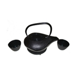Black Teapot Set #1