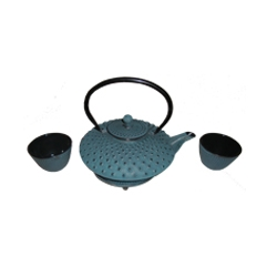 Blue Teapot Set #1