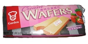 Garden Cream Wafers (Strawberry Flavor)