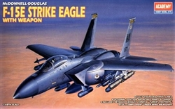 ACADEMY 1/48 McDonnell-Douglas F-15E STRIKE Eagle with Weapon