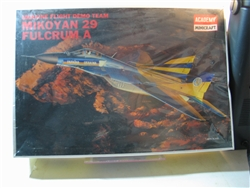 ACADEMY 1/48 MIG  FULCRUM A UKRAINE FLIGHT DEMO TEAM