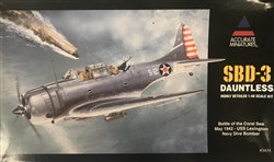 ACCURATE MINIATURES 1/48 SBD-3 Dauntlass