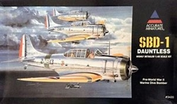 Accurate Miniatures 1/48 SBD-1 Dauntless Pre-World War II Marine Dive Bomber