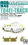 AFV CLUB 1/35M26/46 T84E1 workable Tracks