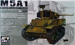 AFV CLUB M5A1 STUART TANK Early 1:35