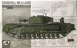 AFV CLUB 1/35 Churchill Mk.III AVRE
