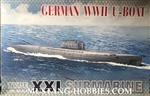 AFV CLUB 1/350 German Type XXI Submarine