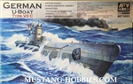 AFV CLUB 1/350 German U-Boat Type VIIC