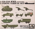 AFV CLUB 1/350 USA Landing Vehicle Set