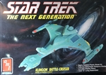 AMT 1/1400 Star Trek The Next Generation Klingon Battle Criuser