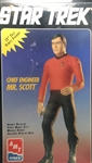 AMT 1/6 Star Trek Chief Engineer Mr. Scott