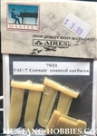 AIRES HOBBY MODELS 1/72 F4U-7 CONTROL SURFACES