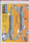 ASTRA DECALS 1/72 F-16C FIGHTING FALCON TRIPLE NICKEL