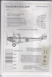 BLUE RIDER DECALS 1/72 CURTISS JENNY RFC TRANING UNIT 1917