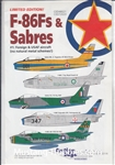 CUTTING EDGE 1/48 F-86FS & SABRES