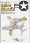 CUTTING EDGE 1/48 F-86 SABRE STENCILS