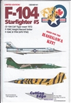CUTTING EDGE 1/48 F-104 STARFIGHTER #5