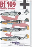 CUTTING EDGE 1/48 MESSERSCHMITT BF-109 FRIEDRICHS & GUSTAVS