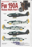 CUTTING EDGE 1/48 FW 190A VICIOUS WULFS PART 1