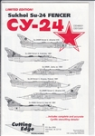 CUTTING EDGE 1/72 SUKHOI SU-24 FENCER CY-24