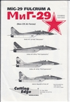 CUTTING EDGE 1/72 MIG-29 FULCRUM A NON-CIS AIR FORCE
