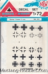 DELTA HOBBY 1/72 GERMAN CROSSES WW II 39-45