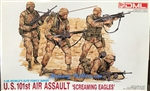 DRAGON 1/35 US 101st AIR ASSAULT SCREAMING EAGLES