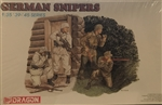 DRAGON 1/35 German Snipers (4)