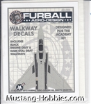 FURBALL AERO DESIGN 1/72 F-4WALKWAYS