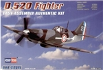 Hobby Boss 1/72 D.520 Fighter